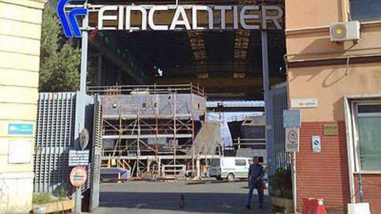 Fincantieri, nello stabilimento di Palermo commesse fino al 2022