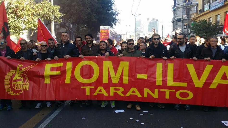 Lavoratore licenziato a Taranto, Fiom proclama lo sciopero