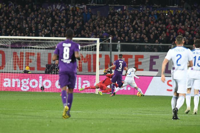 Coppa Italia, gol e spettacolo: Fiorentina - Atalanta fanno pari  (3-3)