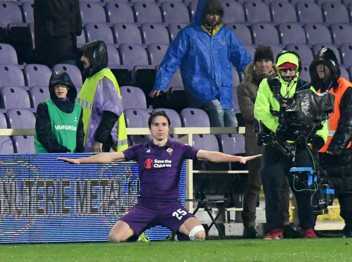 Sbornia giallorossa, la Fiorentina umilia la Roma in Coppitalia ( 7 - 1)