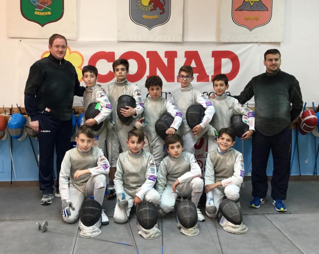 """Scherma Modica, fiorettisti under 14 in pedana a Bolzano al """"Kinder+Sport"""""""