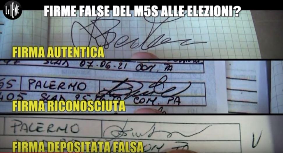 M5s: firme false a Palermo; cambia il giudice, tutto da rifare