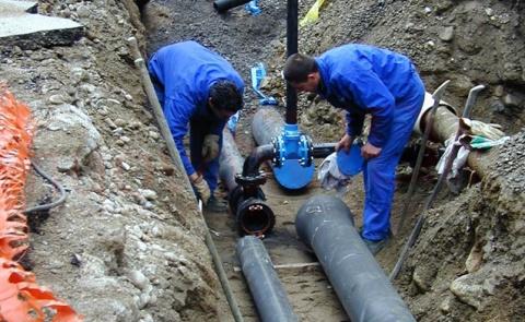 Acqua col contagocce  per due giorni a Messina per lavori alla condotta di Fiumefreddo