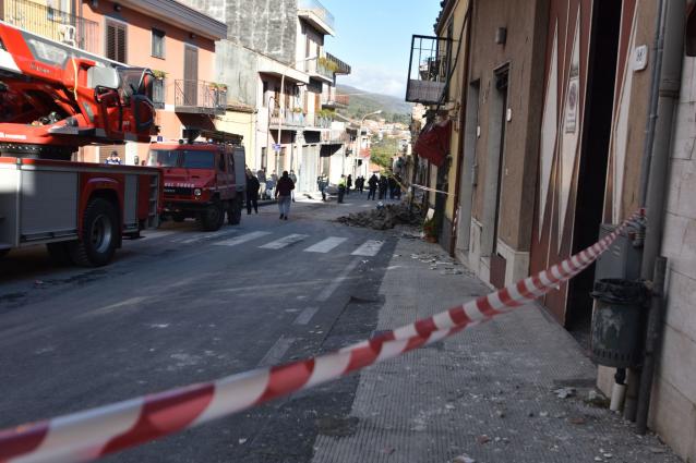 Catania, interventi dell'Anas nelle strade colpite dal terremoto