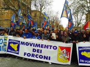 """I Forconi ai gruppi parlamentari all'Ars: """"Servono le vostre dimissioni contro un governo che galleggia"""""""
