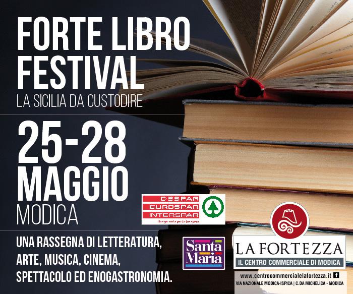 """Modica, fino a domenica 28 la kermesse culurale """"ForteLibroFestival"""""""