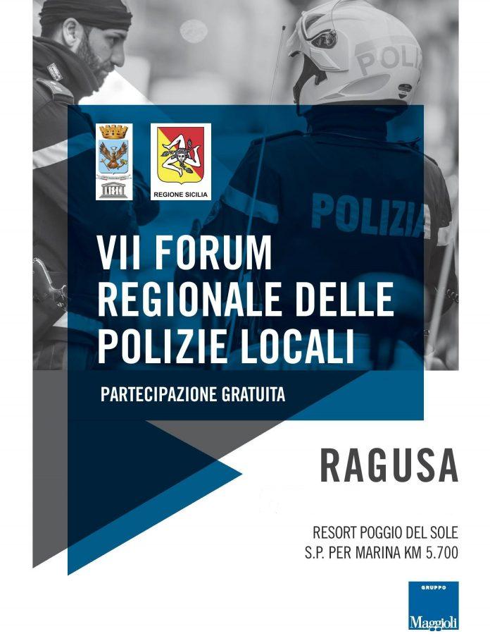 A Ragusa il 9° Forum regionale delle Polizie Locali