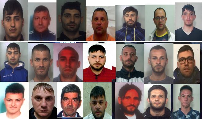 Gruppo legato al clan Cappello gestiva spaccio a Librino: 25 arresti a Catania