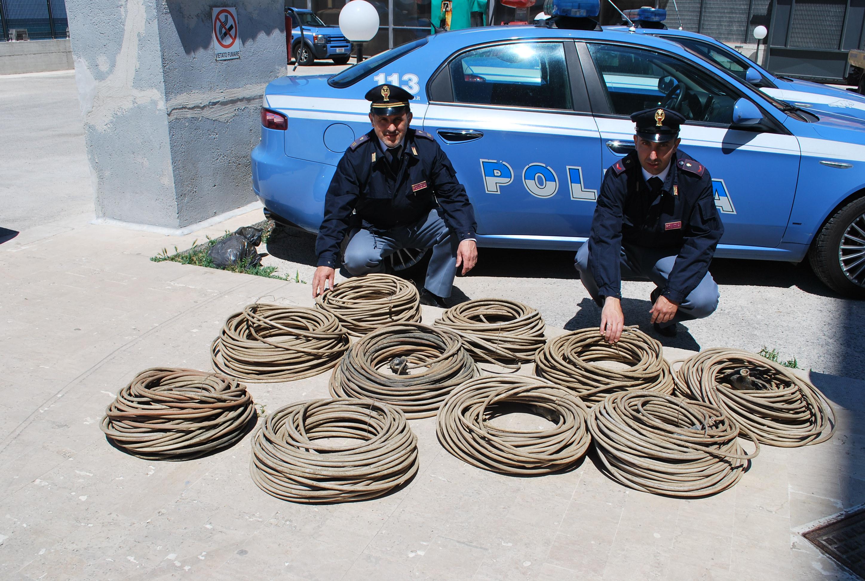 Pachino, beccato a rubare cavi di rame a Noto: arrestato