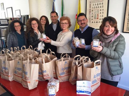 Pachino, 60 zuppe della bontà donate alla mensa dei poveri