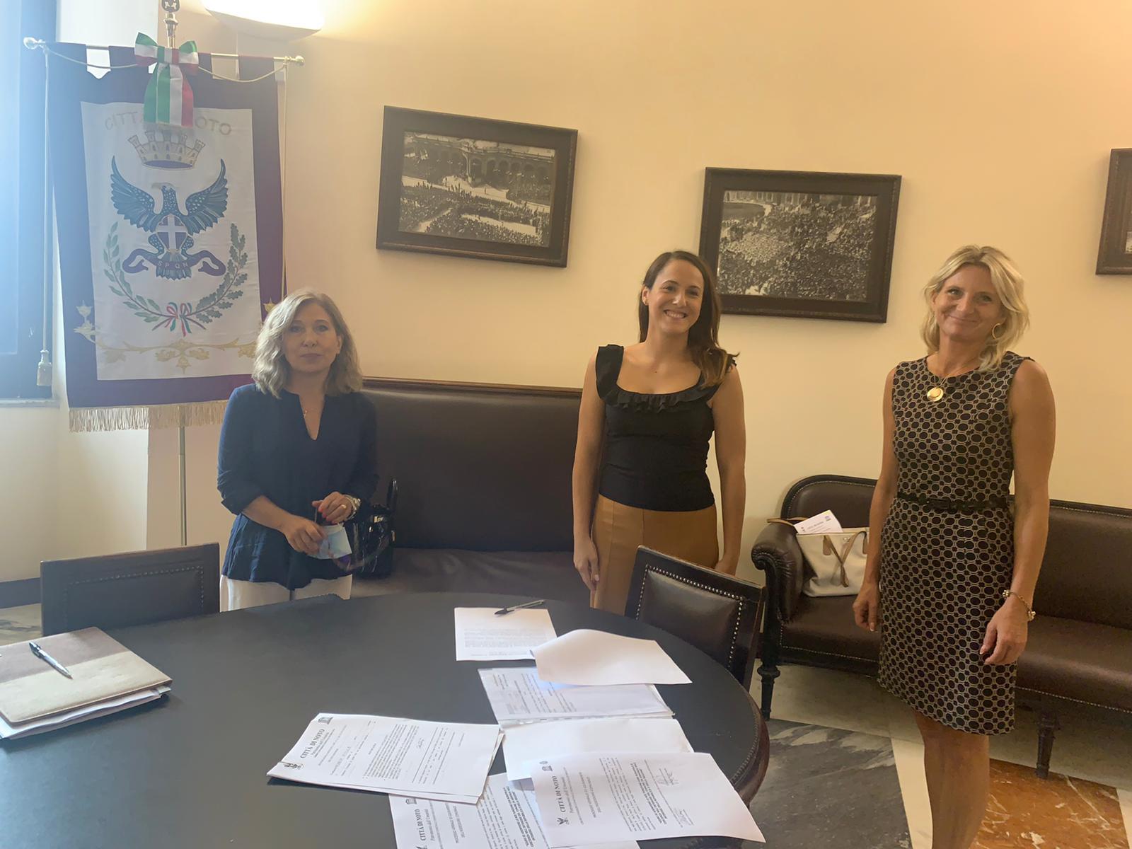 Soltanto donne nella giunta municipale di Noto, due new entry