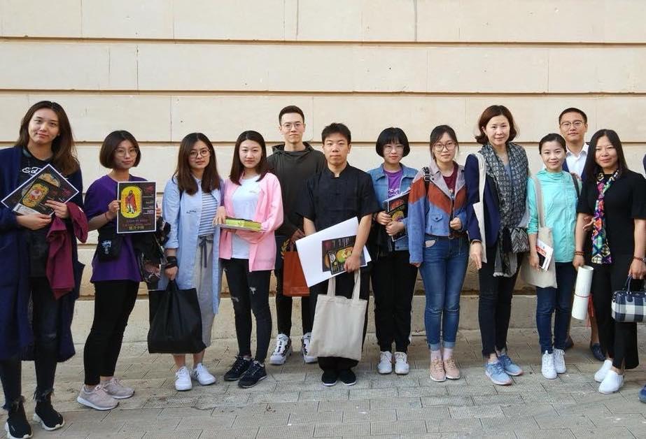 Delegazione cinese arrivata a Noto per l'Infiorata 2018 LE FOTO