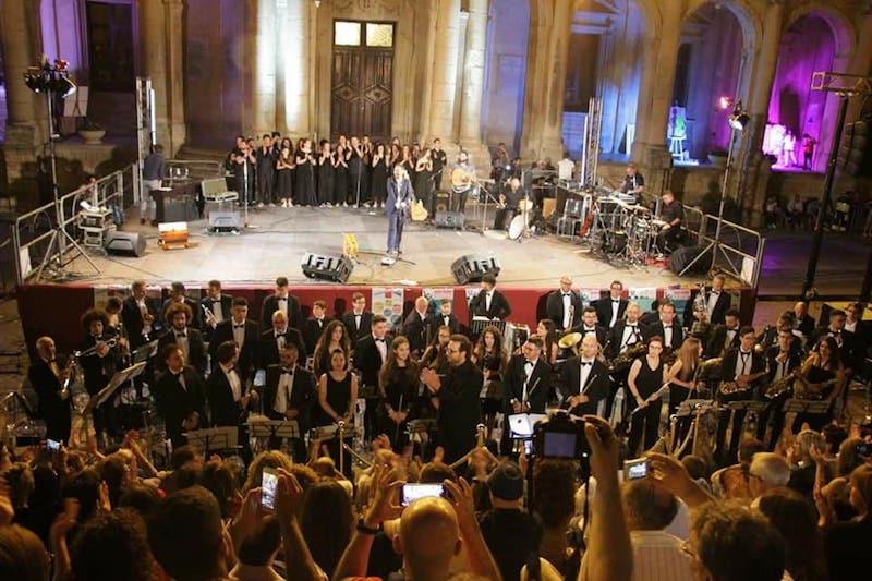 Mario Incudine ha chiuso la Festa della Musica a Noto
