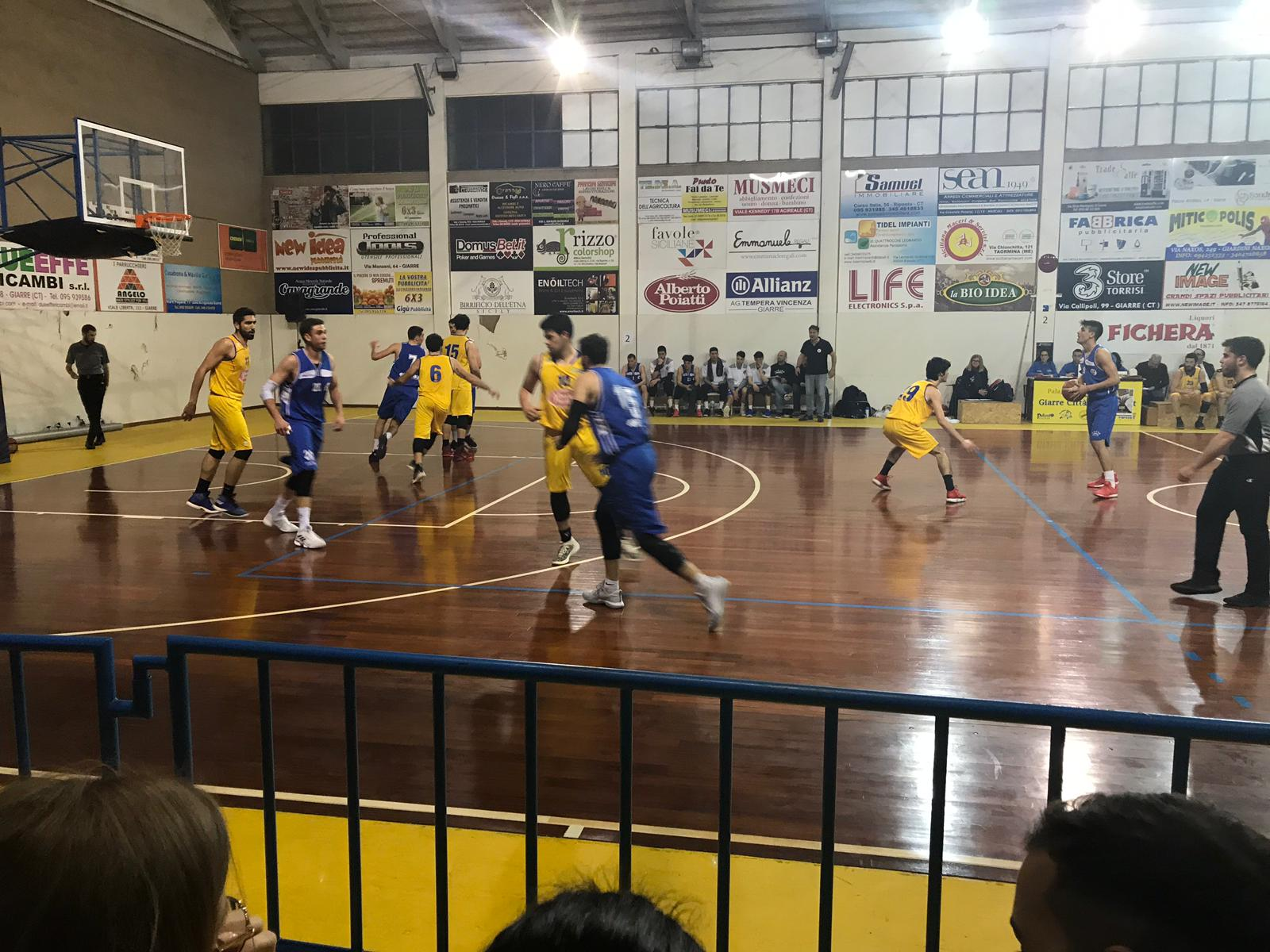 Basket, serie C Silver: la Virtus Ragusa batte il Giarre in gara 2 e vola in semifinale play off