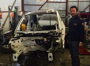 Catania, scoperto nella zona industriale un deposito di auto rubate