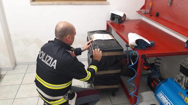 Officina meccanica abusiva a Lentini, scatta il sequestro