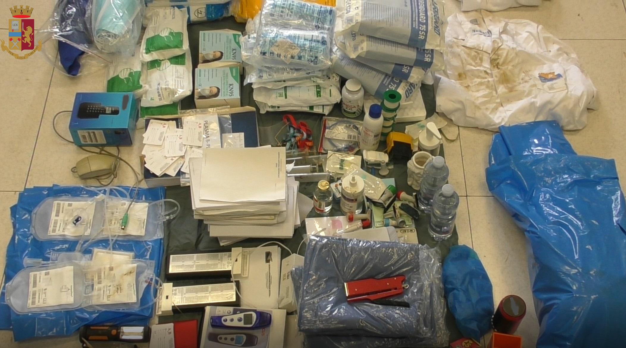 Donatore di sangue di Calascibetta rubava all'ospedale di Enna: 15 furti