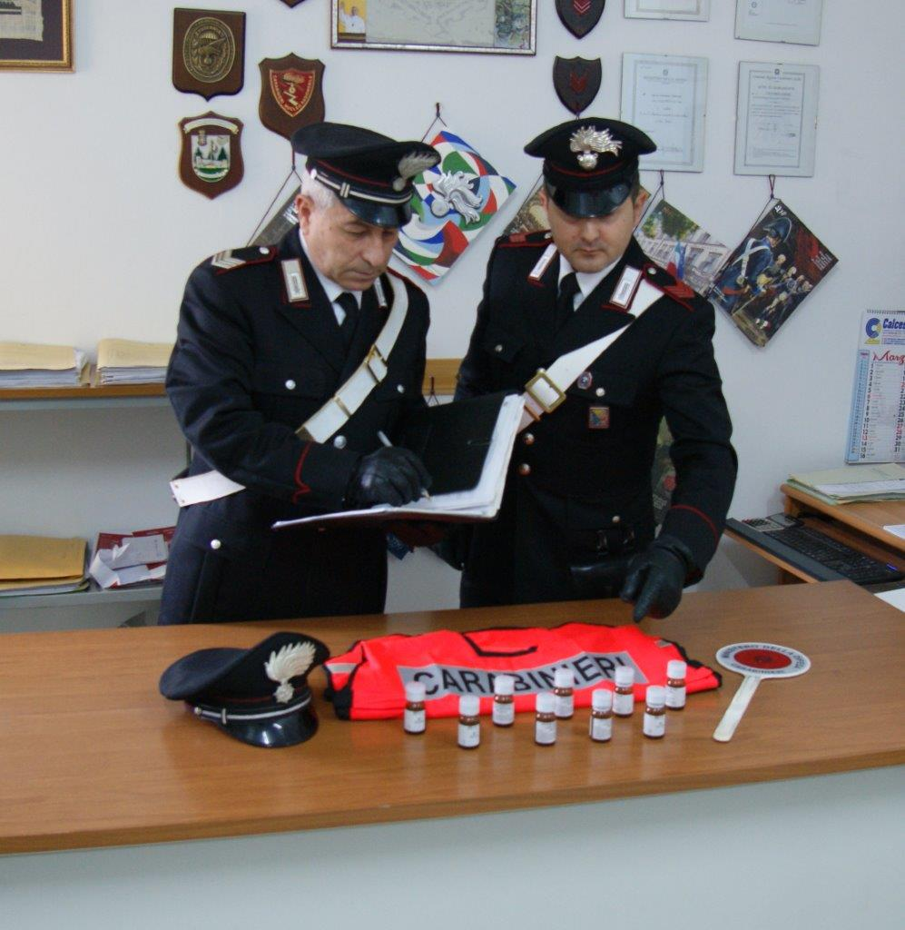 Rosolini, deteneva 7 flaconi di metadone: arrestato