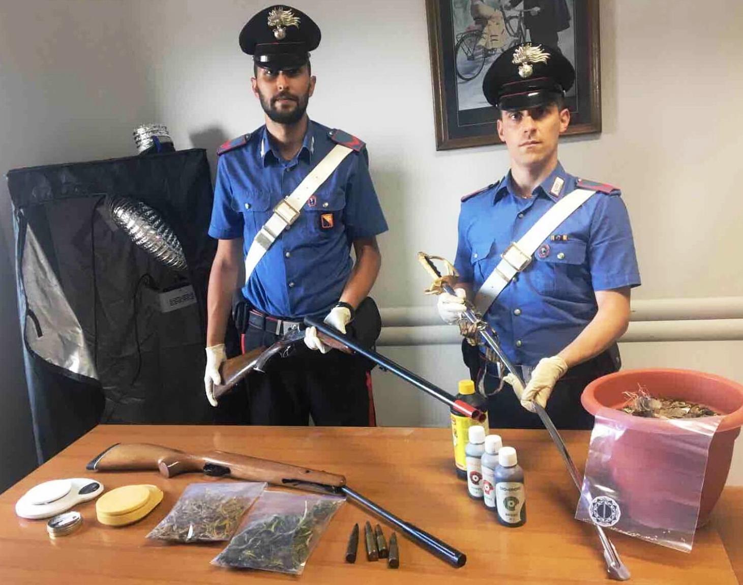 Sessantenne arrestato a Mineo per spaccio di droga