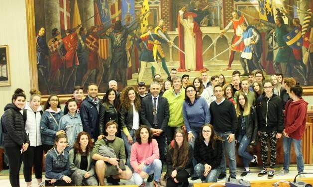 Al Comune studenti dell'Alberghiero di Asiago gemellati con Modica