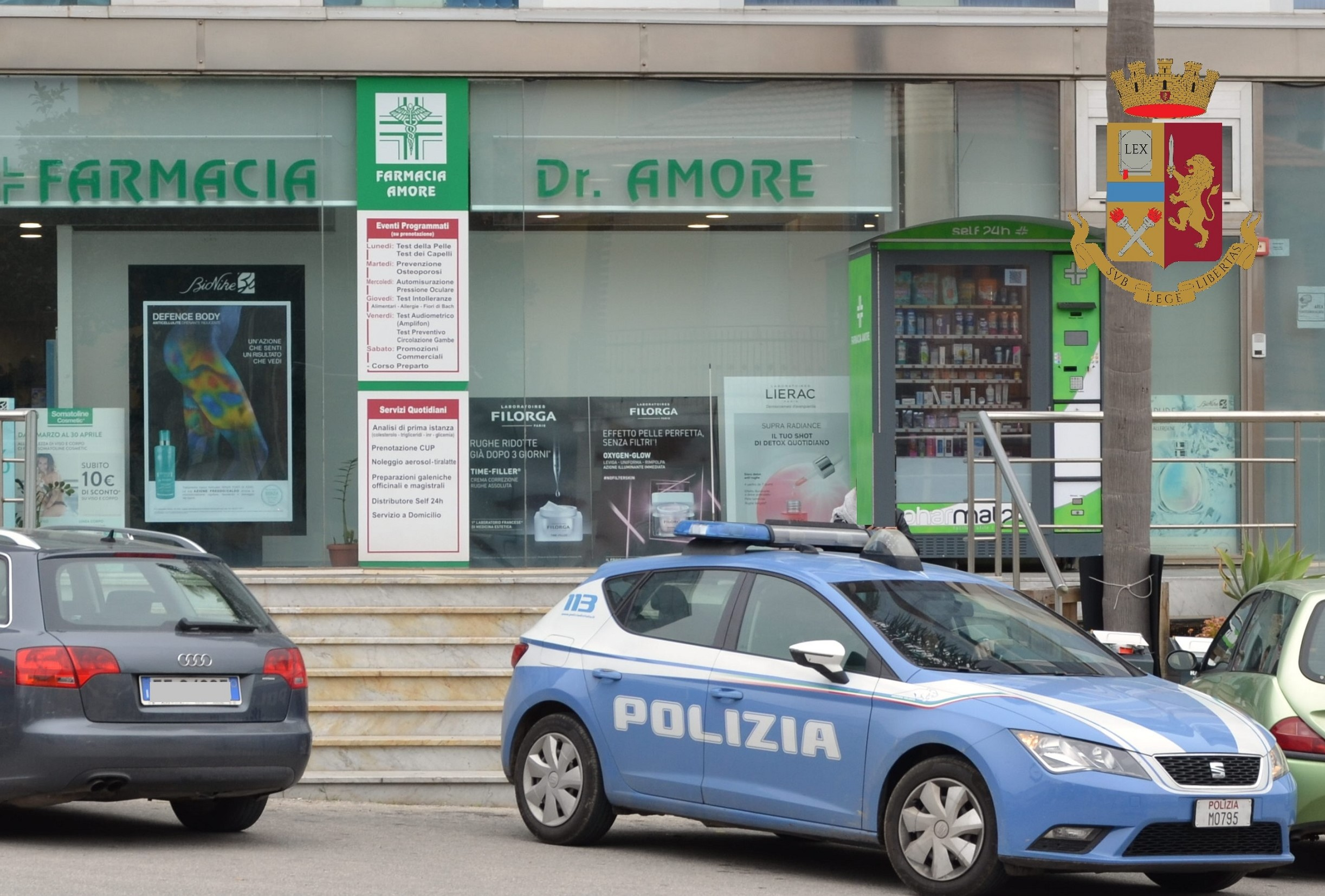 Modica, arrestato presunto autore di un furto in farmacia