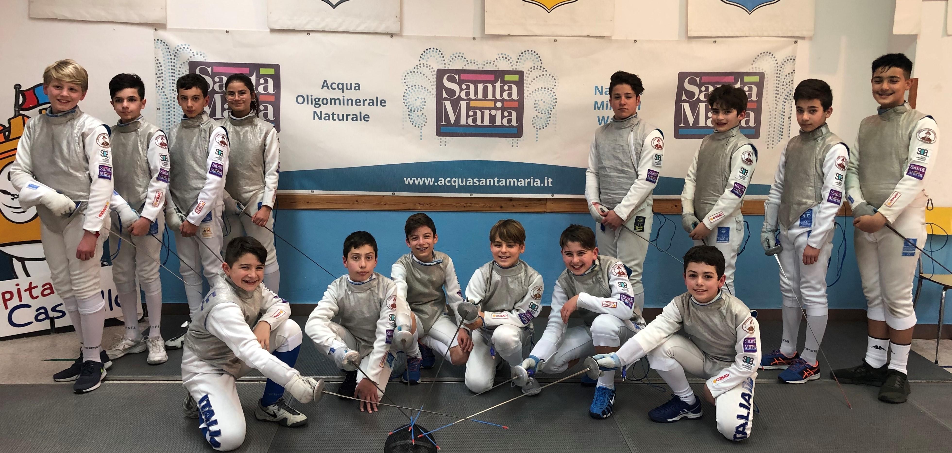 Scherma, la Conad Modica impegnata nel Gran Prix nazionale Under 14 a La Spezia