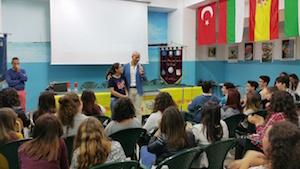 Pachino, la polizia incontra gli studenti