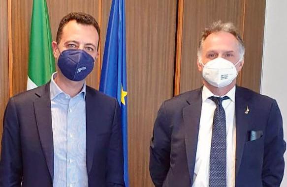 Lega Sicilia, confronto tra il segretario regionale Minardo e il ministro Garavaglia.