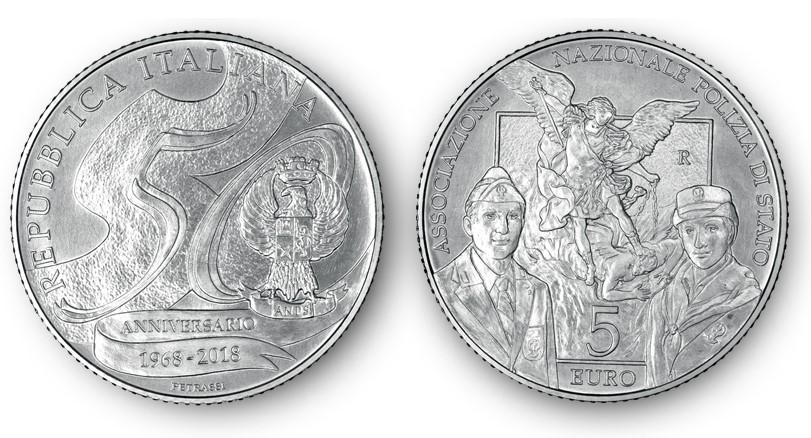 Presentata moneta d'argento per anniversario Associazione Polstato