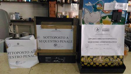 Lavoro nero e scommesse illegali a Catania, denuncia e sequestro