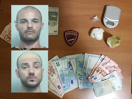Catania, la polizia arresta due spacciatori a San Cristoforo