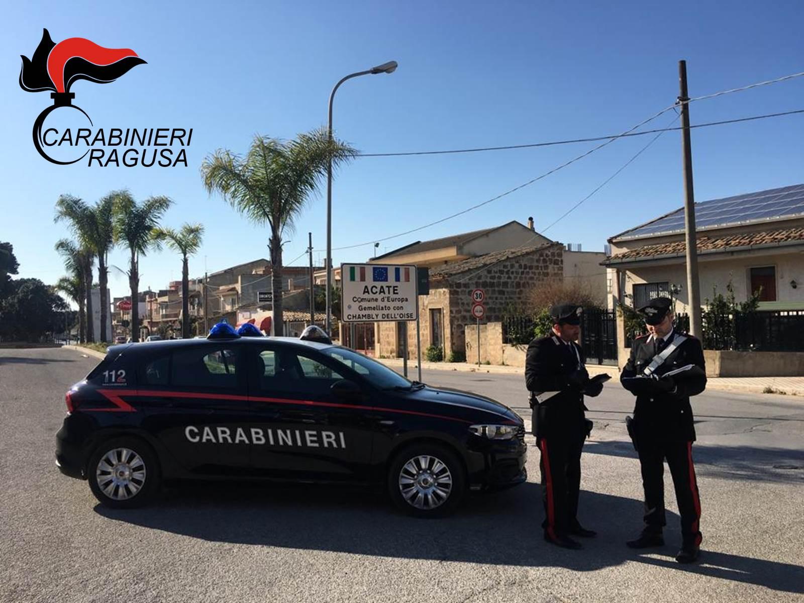 Controllo del territorio: 5 agli arresti domiciliari tra Vittoria, Comiso e Acate