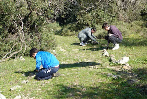 Scordia, gli studenti del Majorana in visita alla Grotta Palombara e Villasmundo