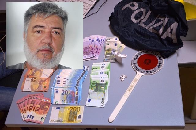 Trovato a Priolo con droga e quasi 15 mila euro, arrestato