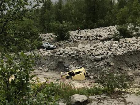 Frana Val Ferret, trovato il corpo della seconda vittima