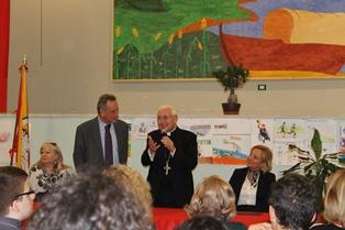 L'arcivescovo di Siracusa accolto a Francofonte da trecento studenti