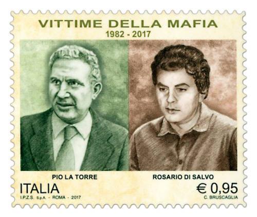 Palermo, un francobollo per commemorare Pio La Torre e Rosario Di Salvo