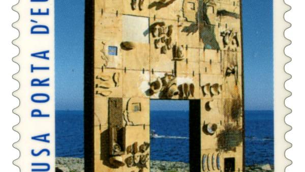 """""""Lampedusa porta d'Europa"""", emesso francobollo celebrativo"""