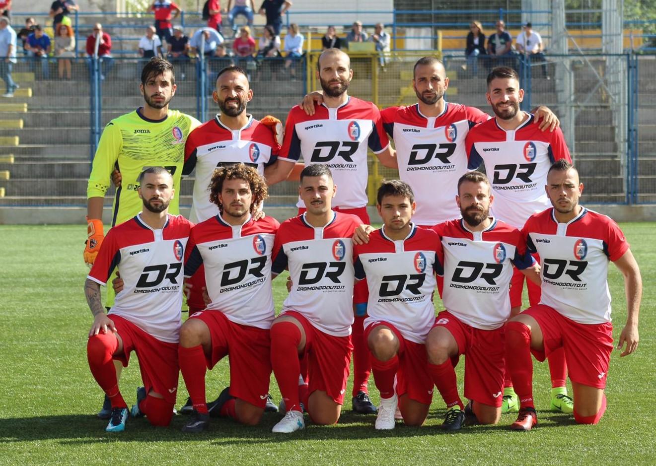Calcio, Promozione: il Frigintini  fa 1 a 1 e torna da Siracusa con un punto prezioso