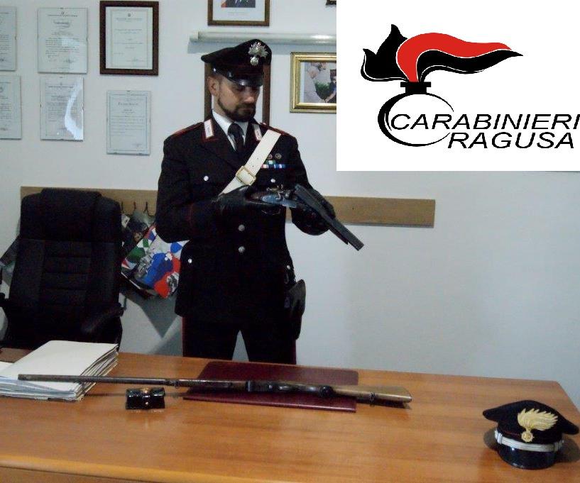 Ragusa, trovati due fucili rubati: uno era modificato