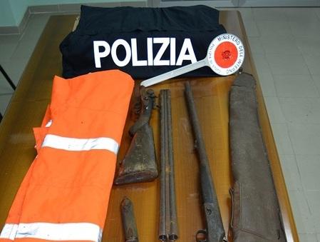 Detenevano fucili clandestini, padre e figlio arrestati a Serra San Bruno
