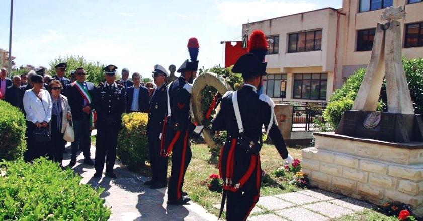 Carabinieri morti in volo 14 anni fa commemorati a Sortino