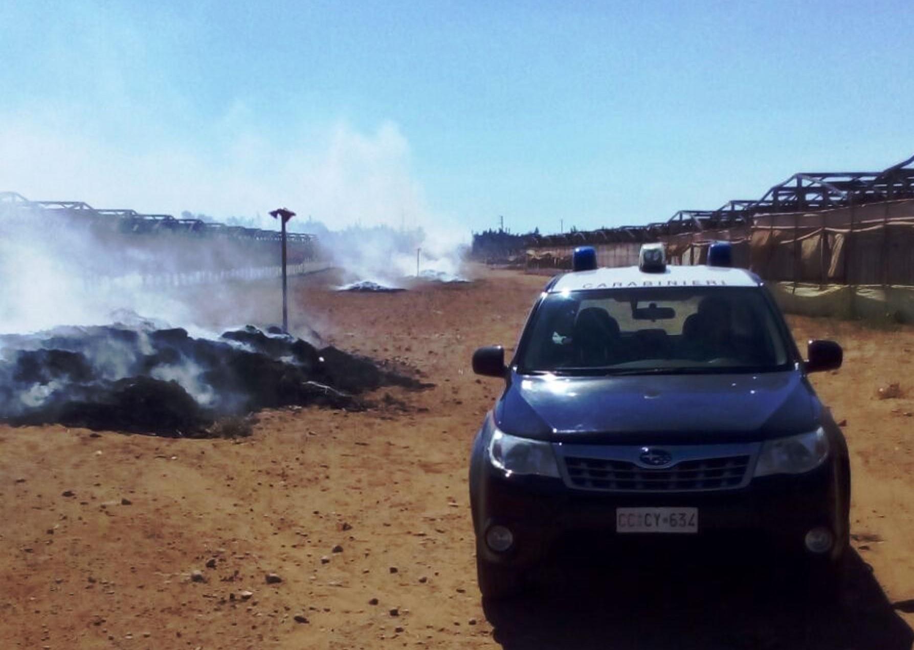Acate, due persone denunciate per inquinamento ambientale