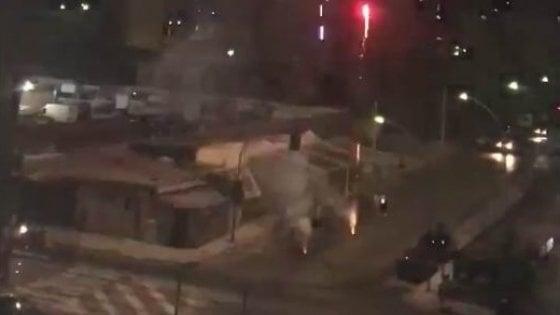 Palermo, fuochi d'artificio per la scarcerazione del boss