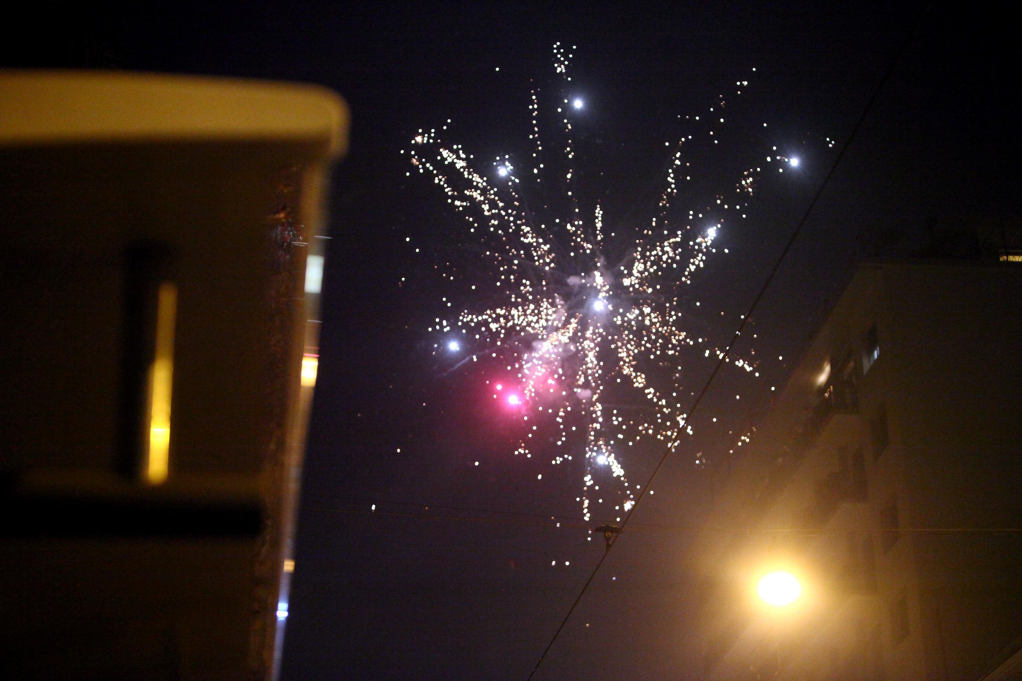 Catania, fuochi d'artificio in onore di defunti: denunciato