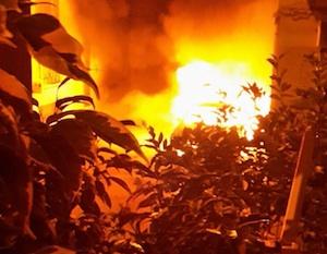 Rosolini, in fiamme l'auto del responsabile della Cna Pippo Cicero