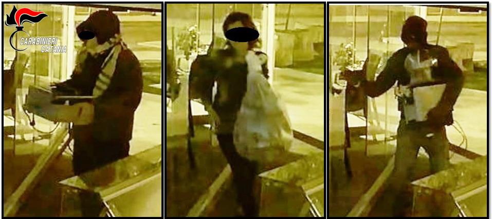 Presi tre ladri seriali a San Gregorio: anche una donna nella banda