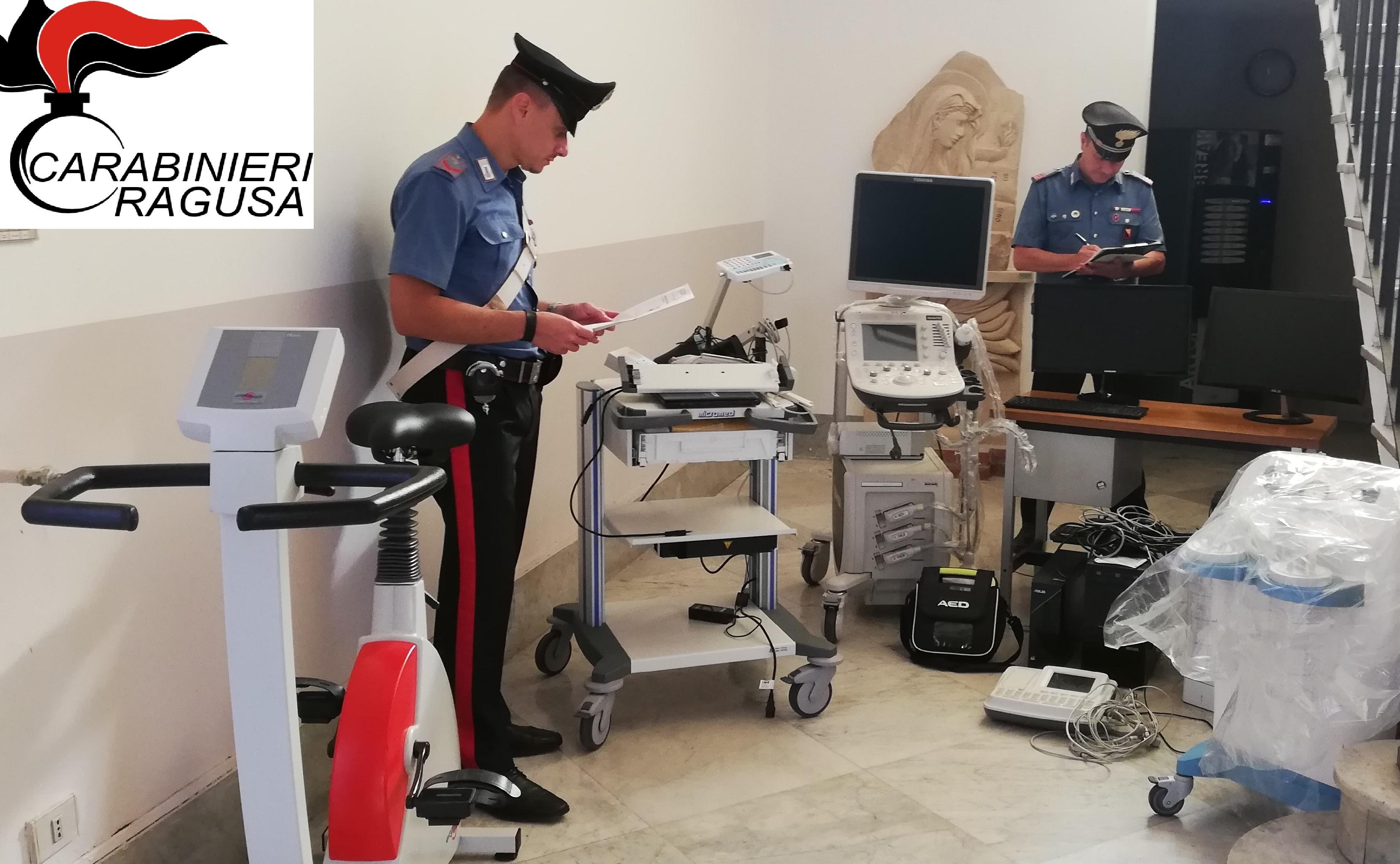 Ragusa, arrestati ladri di attrezzature diagnostiche: recuperata la refurtiva