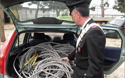 Milazzo, rubano materiale elettrico per 20 mila euro: tre arresti