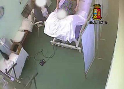 Donna deruba un anziano ricoverato, identificata a Catania